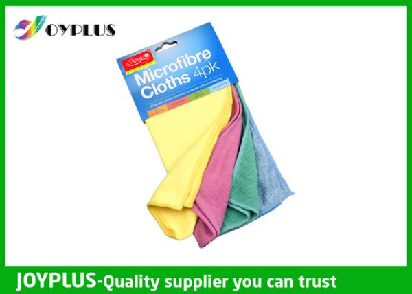 Quality Microfiber Cleaning Cloth 4PK  Absorbable  Microfiber Kitchen Towel Set for sale