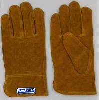 China 10 inch Cow Split Leather Working Gloves wholesale