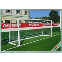 Rust Protection Soccer Field Equipment Removable Soccer Wing 11 Man Soccer Goal Post