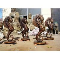 Customized Size Bronze Statue For Garden Decoration Hippocampus Design