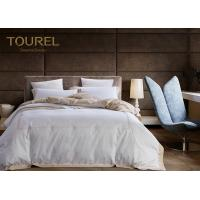 China 100% Cotton Printed Hotel Quality Bed Linen Plain White Duvet Cover on sale