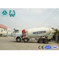 14 Cubic H7 Multi Functional Cement Mixer Truck Manual Control Euro 4