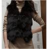 China Women's Fox Fur Vest Fox Fur Coats Fox Fur Jacket Japanese & Korean style Z41 Black wholesale