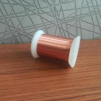 China Awg 54 0.016mm Super Thin Self Bonding Enamel Copper Wire Soderable Magnet Wire wholesale