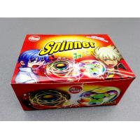 China Nice Taste Spinner Candy With Funny And Lovely Shape , Kids Love wholesale