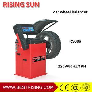 China Auto garage used digital display car wheel balancing equipment for sale wholesale