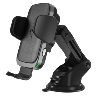 China Coil Sensor Vent Clip Car Mount Wireless Charger on sale