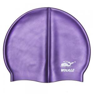 China Durable Purple Swimming Hat wholesale