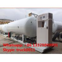 China 32m3 skid mobile lpg gas station, CLW brand best price 16tons skid lpg gas filling plant for automobiles for sale on sale