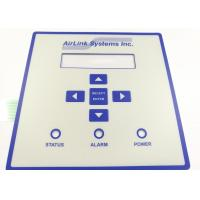 China Embossed Tactile Button Warterrpoof Membrane Switch With 3M Adhesive wholesale