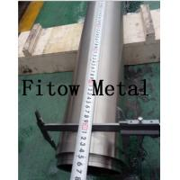 China Baoji Fitow spray coating zirconium circle target for sputtering | High Quality wholesale
