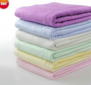 China 55x27(140x70cm) Bamboo Fiber Beach Towel, Bamboo Bath Towel, 100%Bamboo Home textile on sale