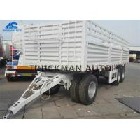 China 20 Tons 20 Feet Shipping Container Trailer For Transport Container And Bulk Cargo on sale