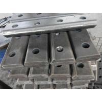 China Various international standard rail fish plate joint bars rail joint bar wholesale