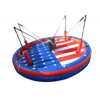 Buy cheap Interactive Outdoor Inflatable Games , Safety Funny Bungee Bull For Team from wholesalers