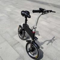 China CE FCC Certification 36v 400w Folding Electric Bicycle , Fold Up Electric Bike wholesale