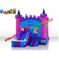 China Turrets Colorful Commercial Bouncy Castles  Slide  5 x 4  Meters for Girl wholesale