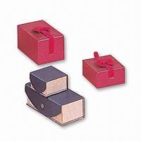 China Gift Boxes, Suitable for Advertising Purpose, Made of Graybeard wholesale
