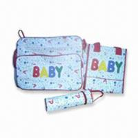China Diaper Bag, Made of Polyester, Measuring 35 x 32 x 20cm wholesale
