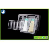 China Cosmetic flocking vacuum formed plastic trays blister with Recycled wholesale
