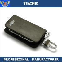 China Customize Vehicle Logo Real Leather Key Case Unisex For Decration wholesale