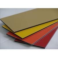 China Mould Proof Aluminium Composite Panel Cladding 1220mm*2440mm on sale