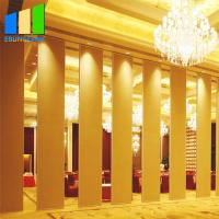 China Aluminium Sliding Partition Walls Interior Decorative MDF Soundproof Wall Partition on sale