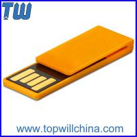 China Plastic Paper Clip Pen Drive Price 4GB Storage to Fit for Your Daily Use wholesale