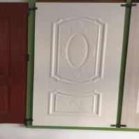 China Friendly environmental White faced Door Skin with many styles for choice on sale