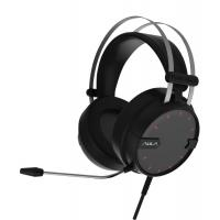 628 Aula Gaming Headset 6.0*2.7mm Mic size With 7 Color  Light Ergonomic Design