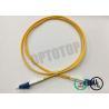 China LC / UPC - LC / UPC OS2 Single Mode Optical Patch Cord 2f Zip 2.0mm Ofnr Corning Smf-28 Ultra wholesale