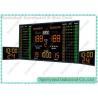 Individual Player Electronic Basketball Scoreboard , Portable Basketball Shot Clocks