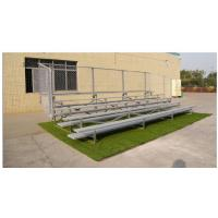 China Durable 3 Row Aluminum Portable Bleachers Grandstand Retractable Bleacher Seating wholesale