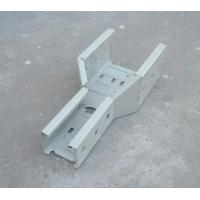 China Solid Bottom Perforated Type Galvanised Steel Cable Tray Spare Parts wholesale