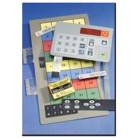 China industrial keyboard ,embossed with many leds and windows for alarm and measuring system wholesale