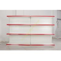 China Single - side Store / Supermarket Display Shelving with 4 Layers Perforated Back Panel wholesale