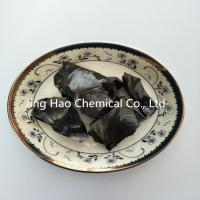 China Black Solid Coal Tar Pitch Lumps with Softening Point 130 ℃ - 140 ℃ wholesale