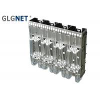 China Stampled Formed Metal Sfp+ Cage Right Angle With Heat Dissipation Hole wholesale