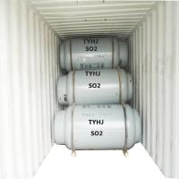 China 40l 50l 800l Cylinder Specialty Gases , 99.9% Liquid Sulfur Dioxide Gas on sale