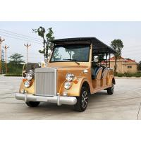 China Battery Powered Vintage Touring Car 10 Seater Electric Sightseeing Car wholesale