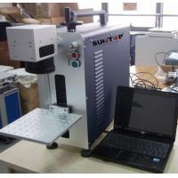China Small size portable laser marking machine  , desktop marking and engraving machine for metal on sale