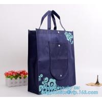 China Custom Promotional Gift Foldable PP Printed Garment Cheap Drawstring Tote Fabric Laminated Recyclable Non Woven Bag, pkg wholesale
