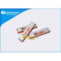 China Plastic Foil Wrapping Paper For Chocolate Bar , Homemade Chocolate Packing Material wholesale