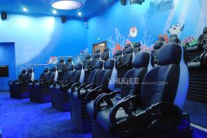 China Sea World 5D Dynamic Cinema Amusement Park 12 Kinds Attractive Special Effects wholesale