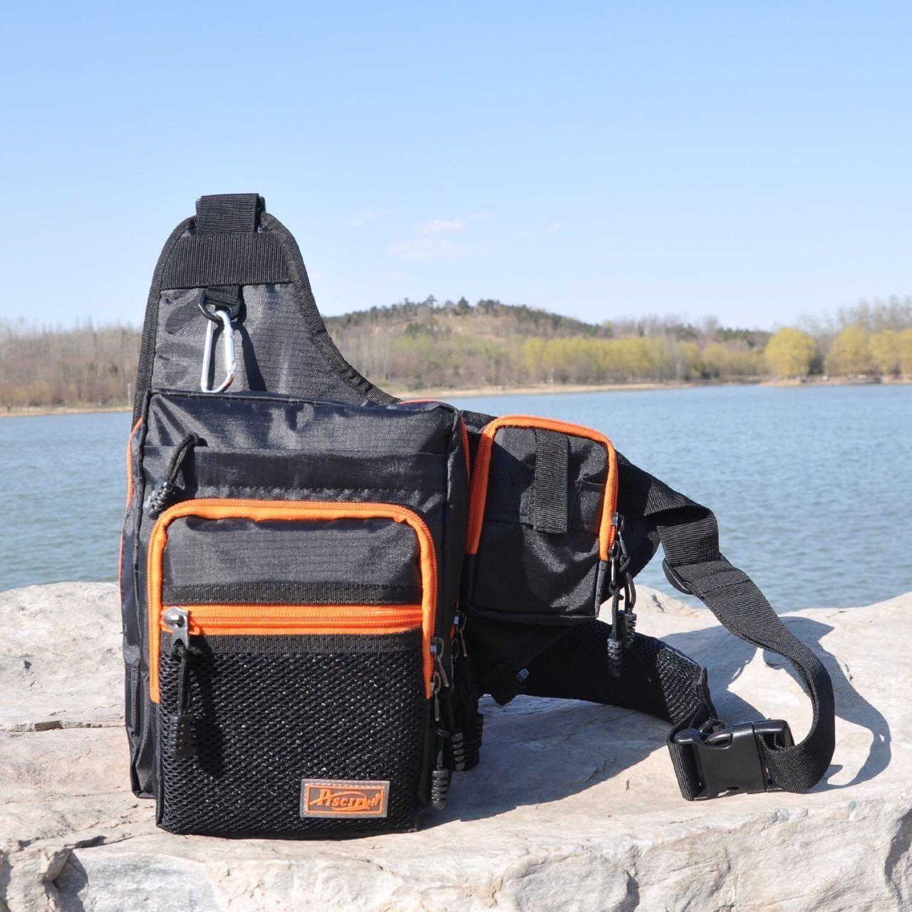 China 2017 fashion fishing bag with much function water-resistant bag AZO free harmless bag manufacturer on sale