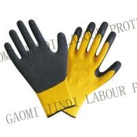 China 10G Cotton Natural Latex Coated Working Gloves wholesale
