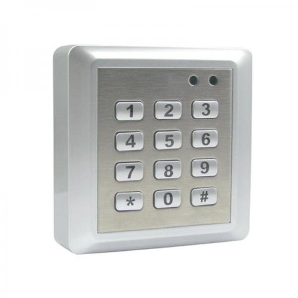 Quality Keypad Staff Attendance System Time Attendance Card Reader 13.56 MHZ Mifare for sale
