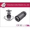 China waterproof circular male female power connectors wholesale