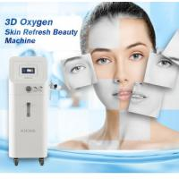 China Skin Rejuvenation Oxygen Skin Treatment Machine With 500mm Jet Distance wholesale