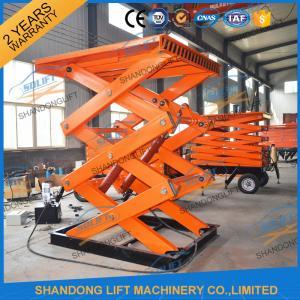Buy cheap Ascenseur hydraulique stationnaire de ciseaux de cargaison d'entrepôt de plate-forme d'ascenseur de ciseaux de la CE TUV 2T from wholesalers